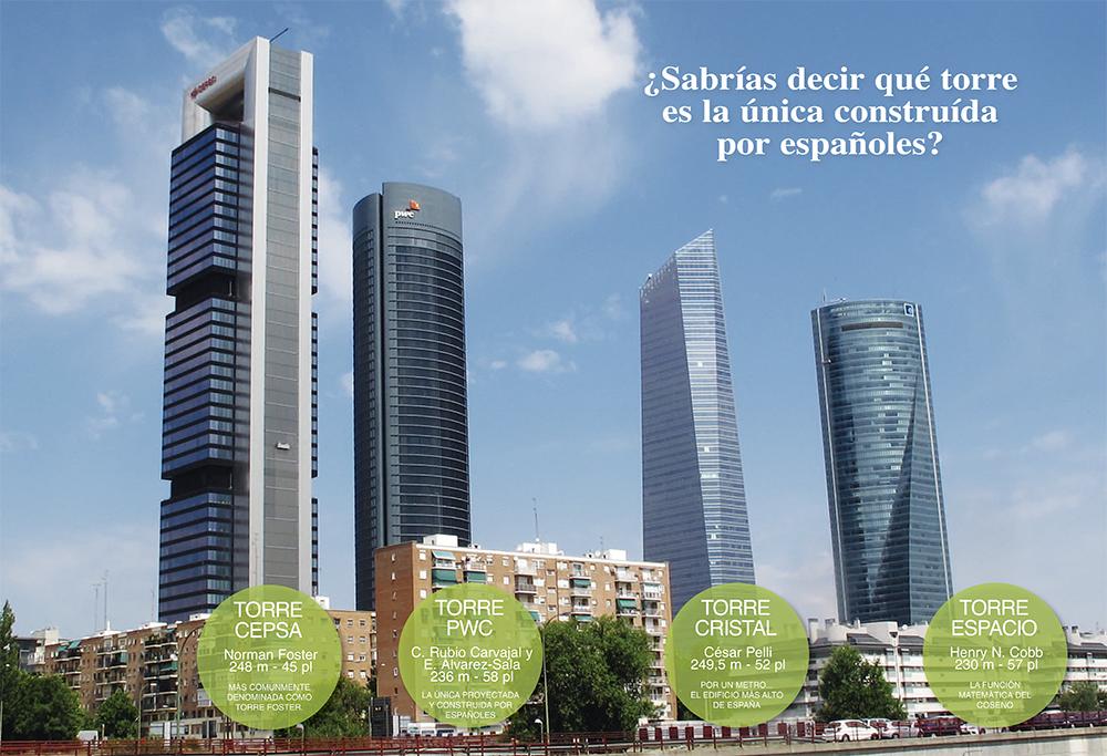 4 Torres Madrid Placet web - Algunas curiosidades que no conocías sobre las 4 torres