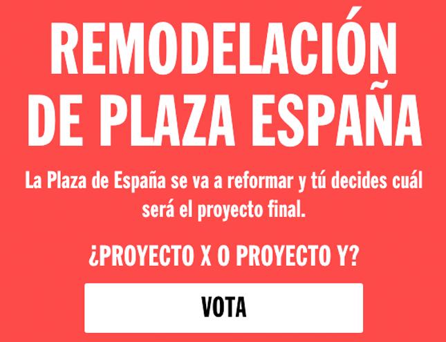 El jurado de arquitectos destaca los aciertos de los dos proyectos de Plaza de España
