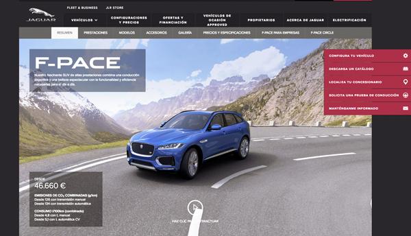 CLIOCA sobre la imagen para ver más información en la página oficial de Jaguar.