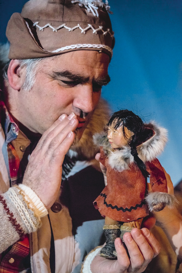 Elisapi y las auroras boreales se representa en el Teatro Pradillo los días 20, 21 y 22 de marzo.
