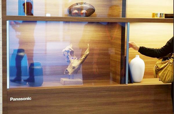 Futuro Hoy es el prototipo que Panasonic ha presentado en la última feria de tecnología en Japón. Una televisión trasparente.