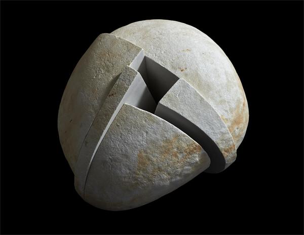 Opus 876 - Exposición (escultura) El sentimiento de la piedra