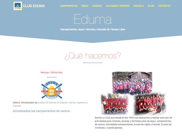 eduma - ESPECIAL Cursos, Postgrado y Formación