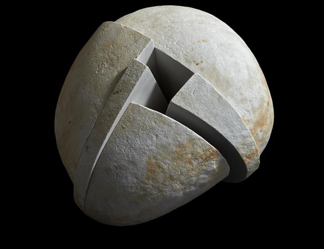 Exposición (escultura) El sentimiento de la piedra