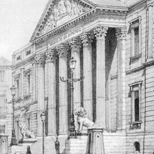 ¿Sabías que los primeros leones del Congreso eran de yeso pintados con betún de judea?