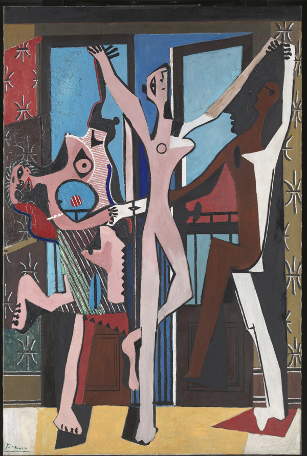 The three dancers, 1925.
