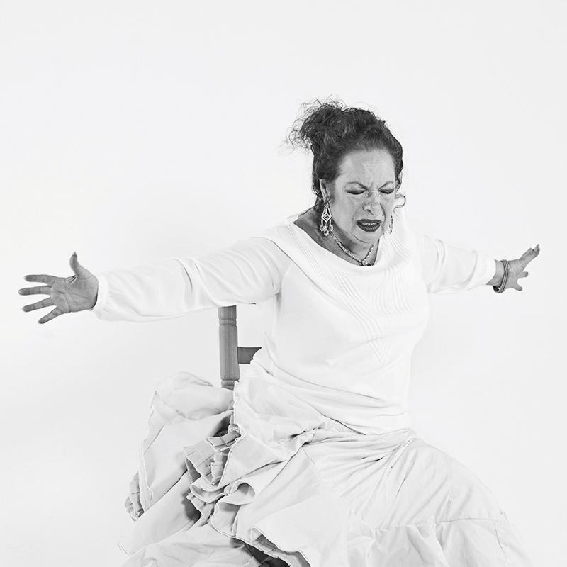 La Chana actuará el domingo 4 de junio en el Centro Cultural Fernán Gómez.
