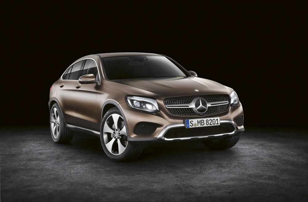 Mercedes-Benz GLC Coupé, C253, 2016