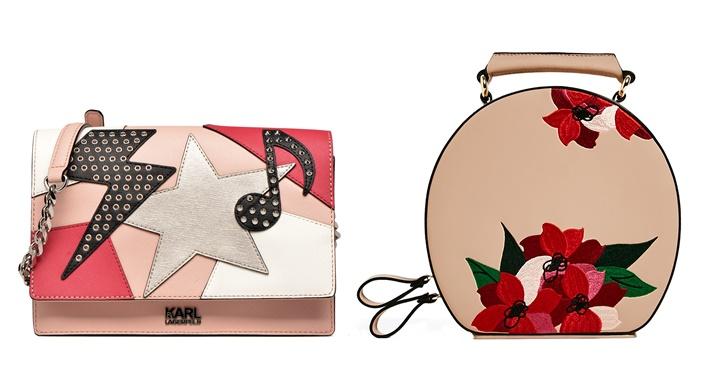 Izda. 245 €. Karl Lagerfeld en Sarenza. Dcha. 30 €. Zara.