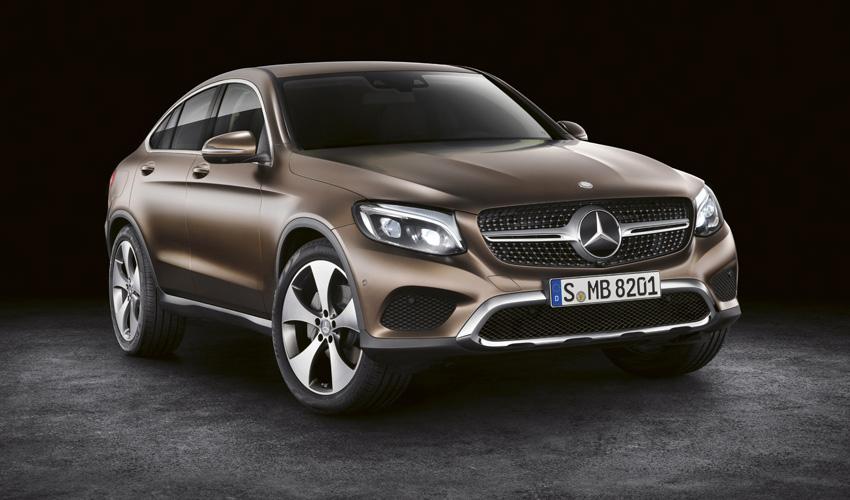 "Mercedes Benz GLC coupé: ""guapo, atractivo e inteligente"""