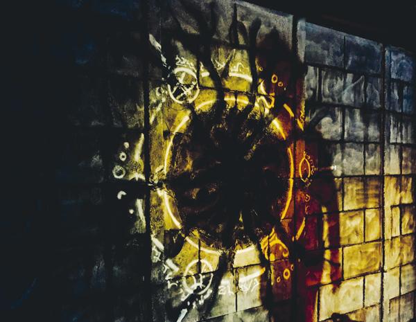Detalle del decorado del escape room teatralizado La Criatura.  - Escape room, el juego que arrasa en Madrid