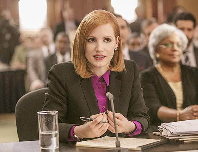 Jessica Chastain protagoniza El caso Sloane (y todos los estrenos de cine)