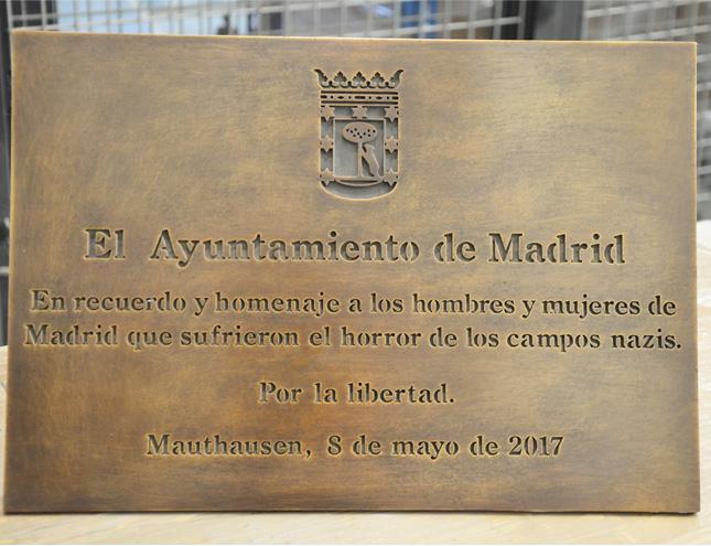 El Ayuntamiento homenajea en Mauthausen a los madrileños deportados por los nazis