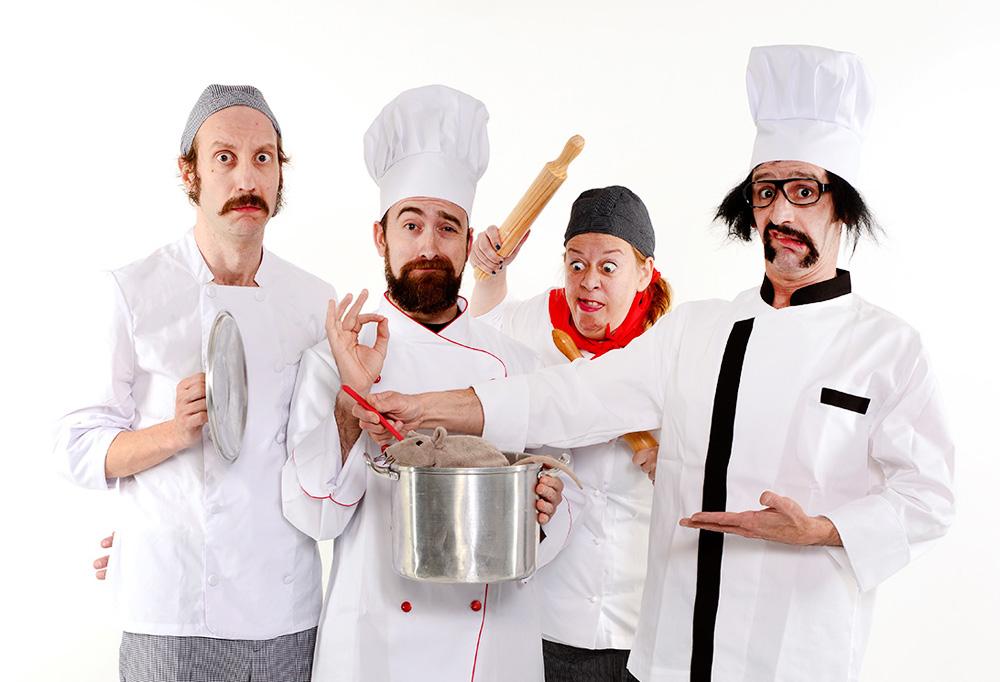 chefs - Toda la risa del mundo a costa de la vanguardia gastronómica en el teatro Alfil