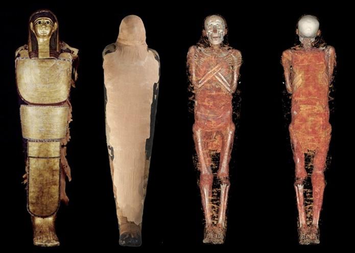 Los secretos de las momias del MAN, al descubierto