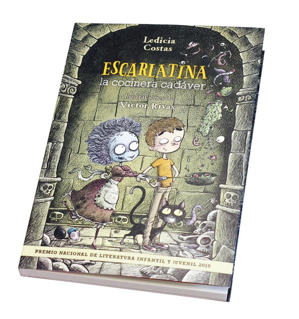 escarlatina - Cuatro libros para acercar a los niños a la cocina