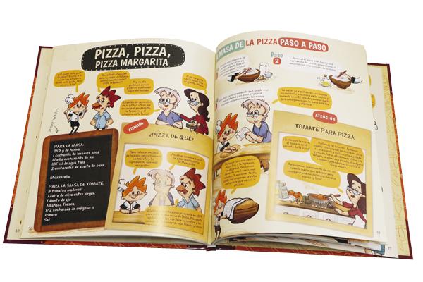 la cocina de Sam abierto - Cuatro libros para acercar a los niños a la cocina