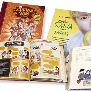 Cuatro libros para acercar a los niños a la cocina