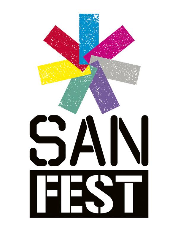 logo sanfest ver - SANFest, el arte urbano de vanguardia llega a Madrid