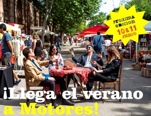 mercado de motores - Planes para disfrutar de Madrid
