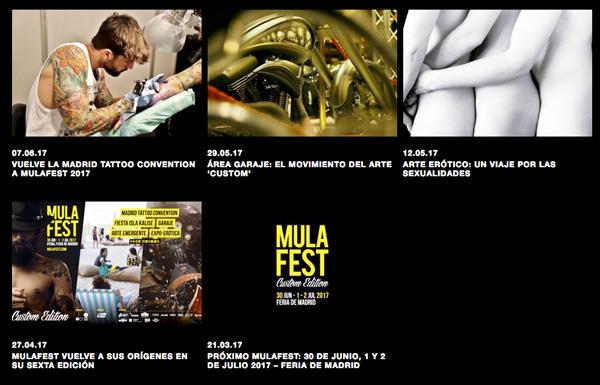 mula - Música, arte, motos, tatuajes y mucha fiesta en el festival Mulafest 2017