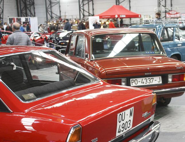 Retromóvil Madrid celebra el 50 aniversario del SEAT 124