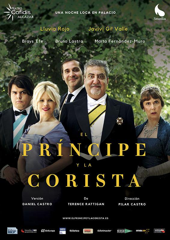 El príncipe y la corista estará en el Teatro Cofidís Alcázar hasta el 2 de septiembre. Martes a viernes 20:30 horas. Sábados 19:00 y 21:15 horas.