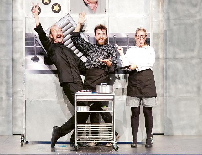 Teatro: Ríete sin parar con la obra Chefs