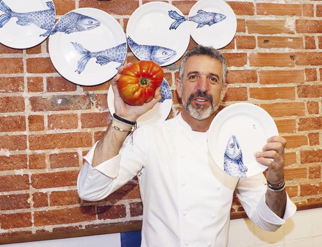Cocina gallega viajada para un verano en Madrid