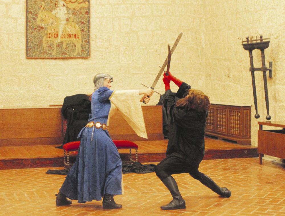 Visita teatralizada en el Castillo de Fuensaldaña