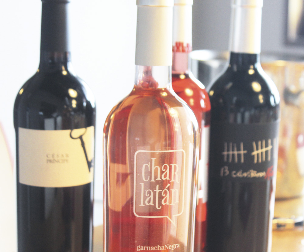 """Charlatán"", un vino rosado moderno y fresco de las bodegas César Príncipe."