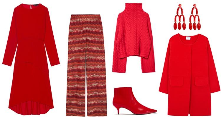 12a - Moda: El rojo manda este otoño
