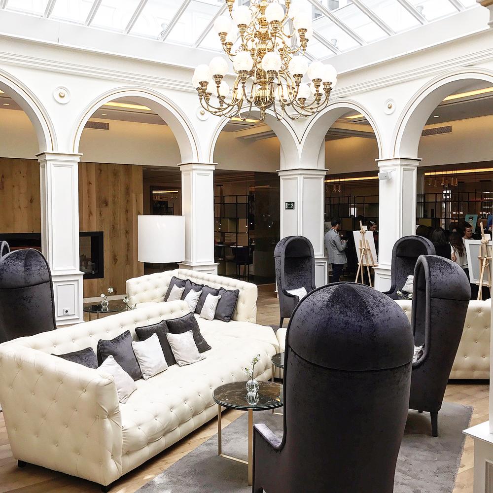 Espacio del Hotel Gran Meliá Palacio de los duques.