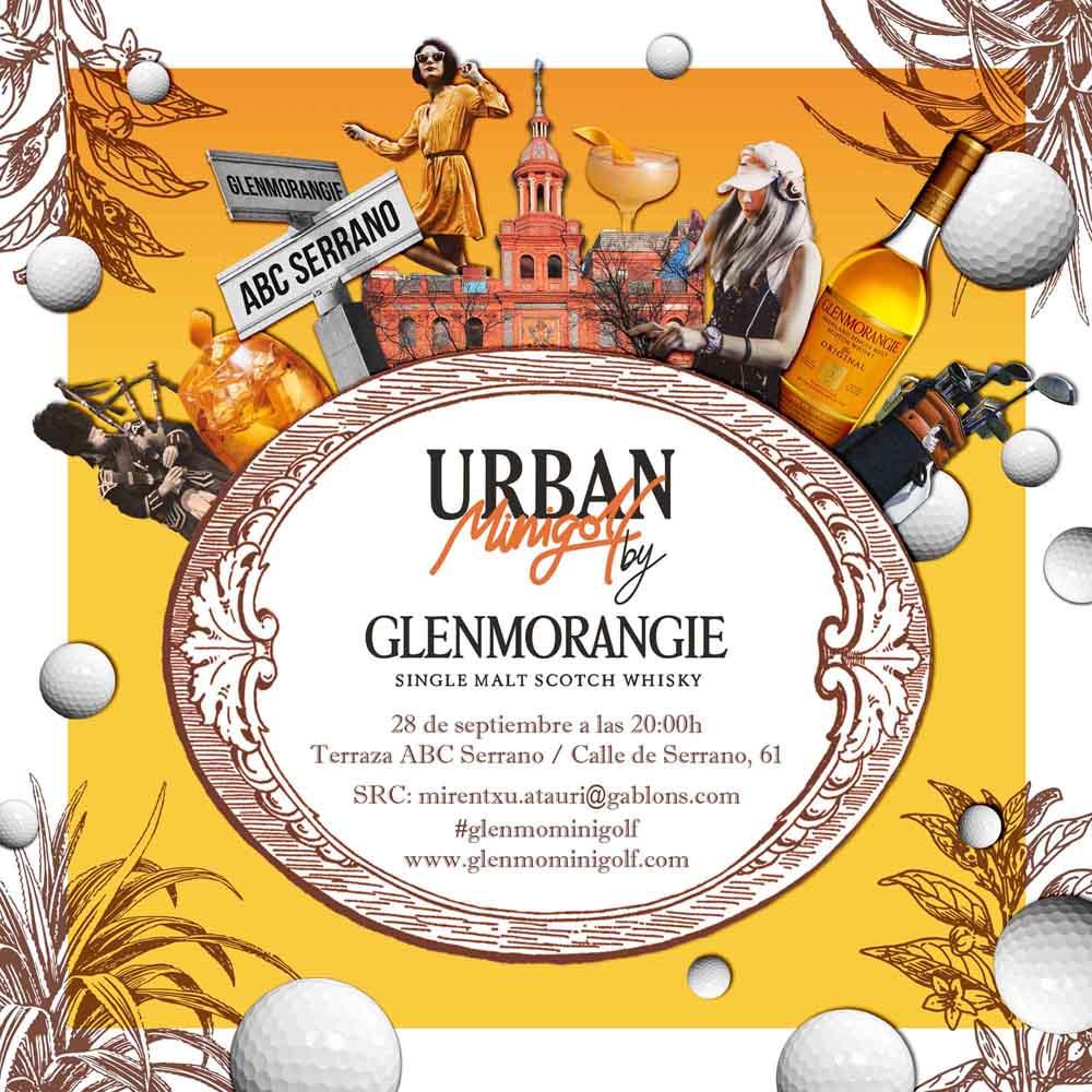 Invitación Urban Mini Golf by Glenmorangie 20h M - Golf y Whisky en la terraza ABC Serrano