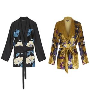 Moda: Es tiempo de chaquetas: prueba con el estilo batín