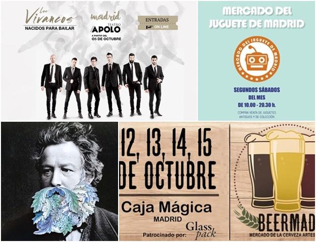Cuatro planes para este fin de semana en Madrid