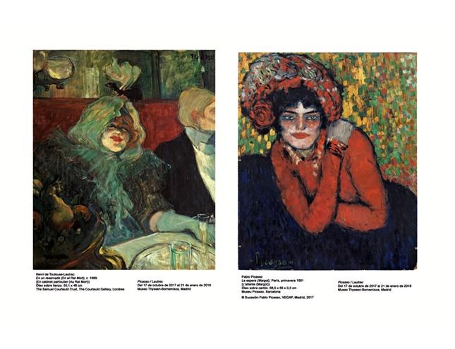 Picasso y Lautrec se ven las caras en el Thyssen
