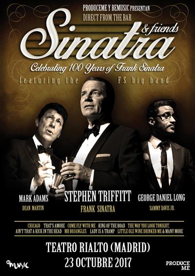 sinatra friends madrid - Sinatra & Friends llega a España
