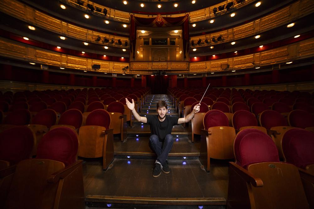 Lucas Vidal en el Teatro Real de Madrid