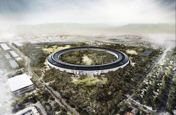 Apple Park (2010-2017) Foster+Partners
