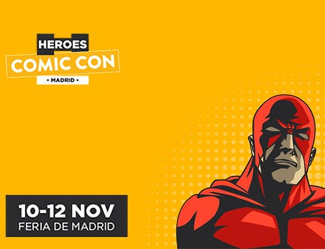 Lo mejor del cómic nacional en Héroes Comic Con Madrid 2017
