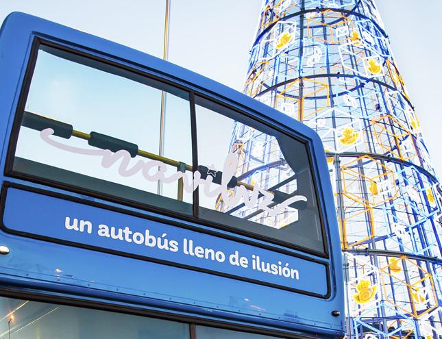 Arranca el NAVILUZ, el autobús para ver la iluminación navideña