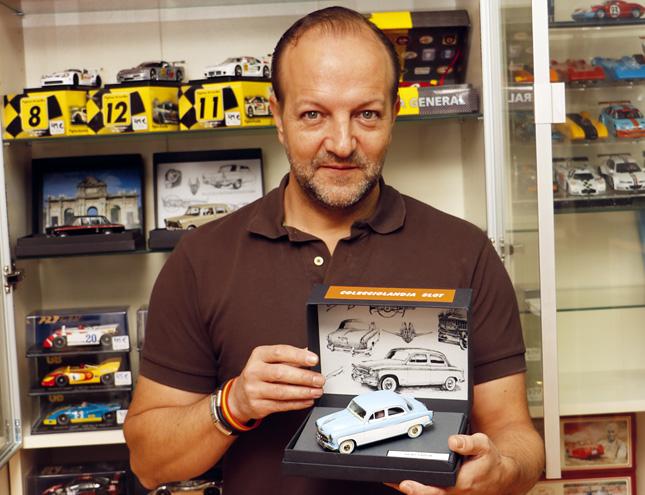 El mayor coleccionista de Scalextric de Europa está en Madrid