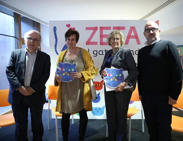 Los niños que nazcan en Madrid en 2018 vendrán con un libro debajo del brazo