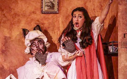 caperucita 3 - Caperucita canta y baila en el Teatro Sanpol