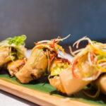 Paquetitos de pato Crujiente con salsa de ciruela Shanghai mama 150x150 - En Shanghai Mama bordan el Dim sum y el Ku bak