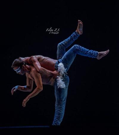 dentro rrss y web - El bailarín Alfonso Cayetano actúa el sábado en Alcobendas