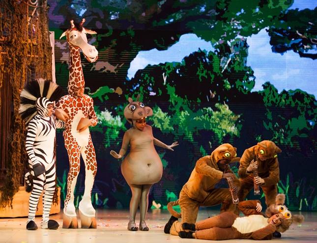 Madagascar, el musical para toda la familia