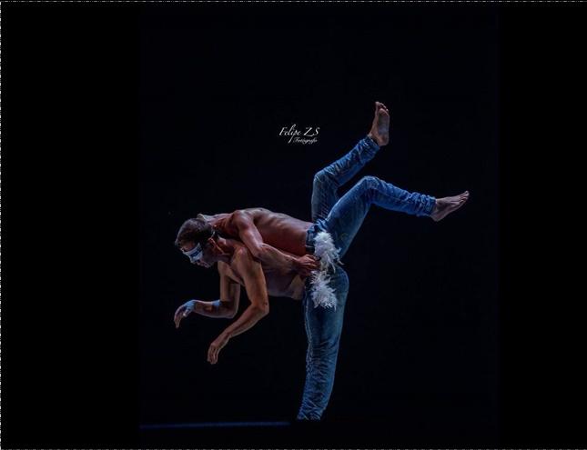 El bailarín Alfonso Cayetano actúa el sábado en Alcobendas