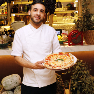 Restaurante Fellina: la pizza Margarita o la esencia de Nápoles